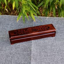Boite ou support à encens en bois ajouré 2