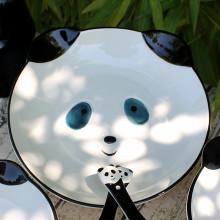 Assiette en forme de panda 20cm