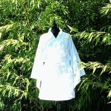 Kimono blanc motif dragon