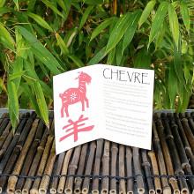 Livret signe du Zodiac de la Chèvre