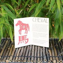 Livret signe du Zodiac du Cheval