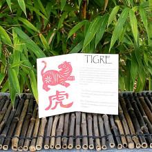 Livret signe du Zodiac du Tigre