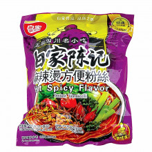 Soupe de vermicelles de patate douce saveur très épicée Baijia 105g