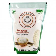Mon riz blanc Bio Thai parfum Jasmin  Thai Hom Mali 1kg