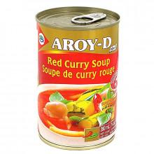 Soupe de Curry rouge Aroy-D 400g