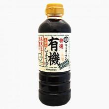 Sauce soja Bio ( Yuki Shoyu) Kikkoman 500ml