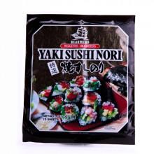 Algue nori pour sushi 10 feuilles 20g