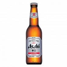 Bière Asahi super dry 5° en bouteille 330ml