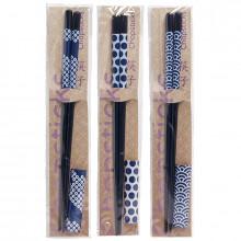 Lot de 3 paires de baguettes- Chopsticks japonais