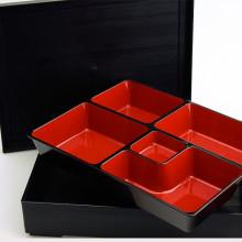 Bento kit noir et rouge