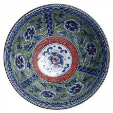 Bol japonais motifs Pivoine 18cm