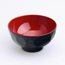 Bol rouge et noir 12cm diamètres