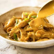 Poulet au curry 200g