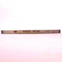 Encens charbon de bois - Hem Musk Blanc 8 batôns