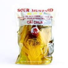 Feuilles de moutarde au vinaigre 250g