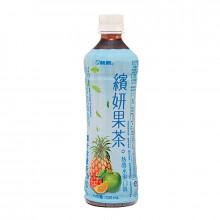 Boisson au thé noir aromes fruits tropicaux 530ml Chin Chin