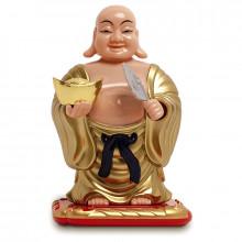 Bouddha dansant à énergie solaire