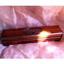 Boite de rangement en bois précieux