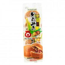 Dorayaki aux haricot rouge et châtaignes -Marukyo-320g 5 unités