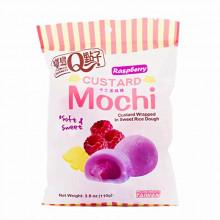 Mochi à la crème anglaise saveur framboise- Taiwan Dessert-110g