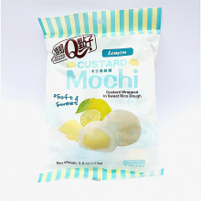 Mini Mochi cœur fondant saveur citron- Taiwan Dessert-110g