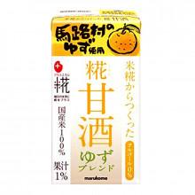 "Boisson de riz saveur Yuzu ""Amazake Koji""  - Marukome - 125ml"