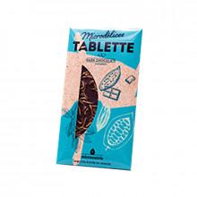 Tablette de chocolat noir aux insectes comestibles-Microdélices-70g