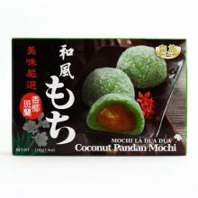 Gâteaux mochi fourrés pandan et coco 210g
