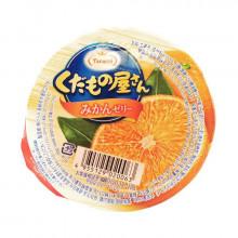 Gelée de fruit avec mandarine ( Mikan )