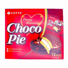 Choco Pie - Lotte - 12 portions individuelles
