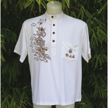T-shirt imprimé motif dragon