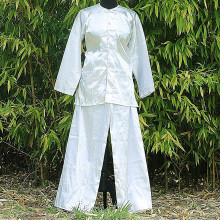 Ensemble chemise et pantalon blanc