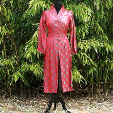 Ensemble tunique et pantalon motifs traditionnels