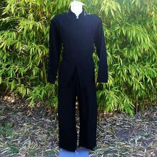 Ensemble tunique et pantalon noir