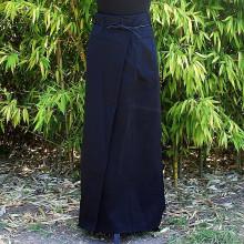 Jupe noire longue asiatique - Taille Unique
