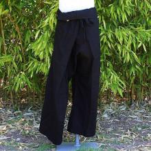 Pantalon Thaïlandais noir - Taille Unique