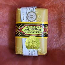 Savon ''abeilles et fleurs'' au bois de santal - 125 gr