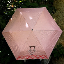 Parapluie Kimmidoll rose - Taille standard
