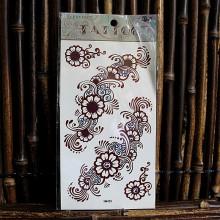 Tatouage éphémère fleurs et motifs