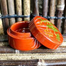 Petite boîte laquée vietnamienne - 6 cm