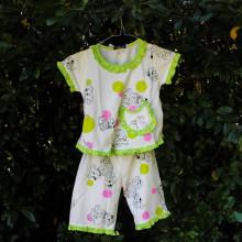 Ensemble pour enfant 101 dalmatiens Vert