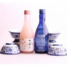 Kit saké sec/doux avec mini bols