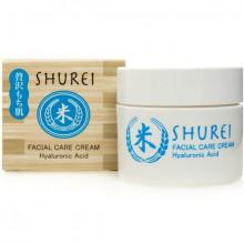 Crème pour visage avec Acide Hyaluronique  'NARIS' Shurei  48g