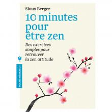"""Livre """"10 minutes pour être zen."""""""