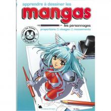 """Livre """"apprendre à dessiner les mangas"""""""