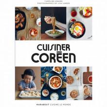 "Livre ""cuisiner Coréen"""