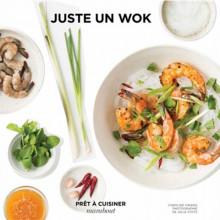 "Livre ""Juste un wok"""