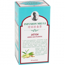 Infusion Meili - Détox 20x1,5g