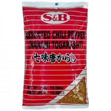 Mélange japonais de 7 épices pimentées 700g S&B