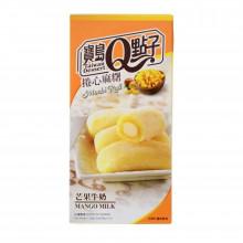 Mochis roulés à la mangue et au lait 150g Taiwan dessert